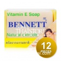 """Bennett"" Bar Soap Vitamin E Natural Extracts (12 Bars,Pieces)"