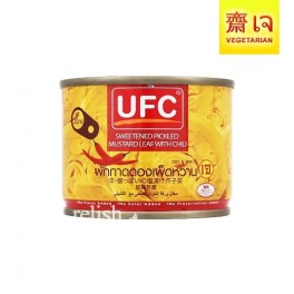 """UFC"" Chili Sweetened Pickled Mustard Leaf"