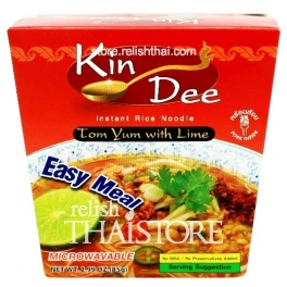 """""""Kin Dee"""" Tom Yum With Lime Flavour Instant Rice Noodle"""