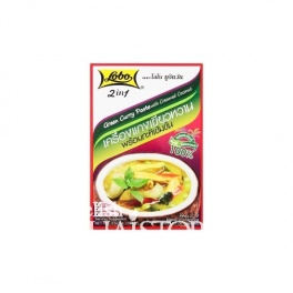"""Lobo"" 2 In 1 Green Curry Paste With Creamed Coconut"