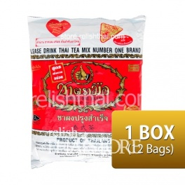 """Number One Brand"" Thai Tea - Original Flavor 400 g. (1 Box / 12 Packages)"