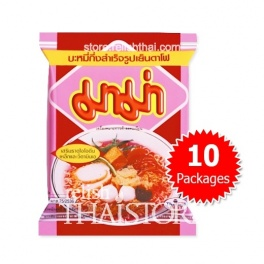 """MaMa"" Yentafo Flavor Instant Noodles - 10 Packages"