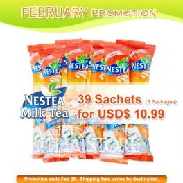 """Nestea"" 3 in 1 Instant Milk Tea - 39 Sachets"